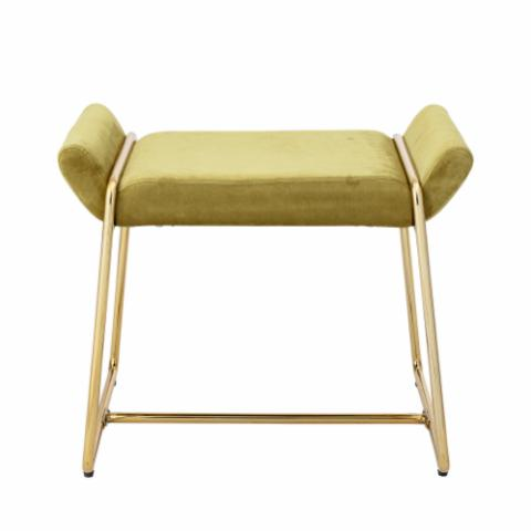 Megan Stool, Yellow, Polyester