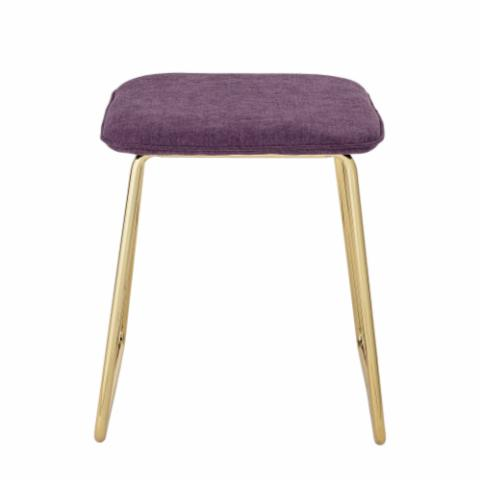 Cajsa Stool, Purple, Polyester