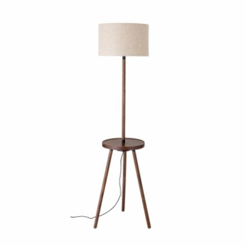 Olai Floor Lamp, Brown, Ash