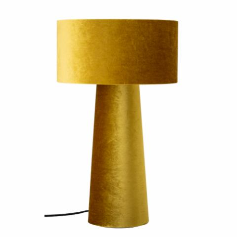 Dafna Table lamp, Yellow, Polyester