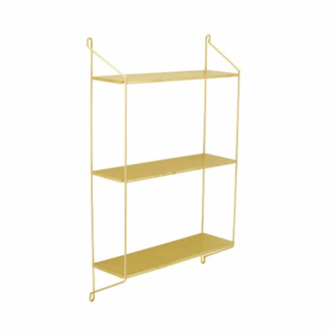Layla Shelf, Brass, Steel