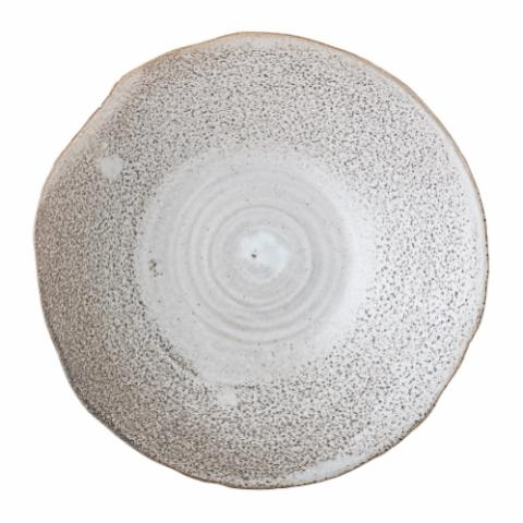 Thea Serving Bowl, Nature, Stoneware