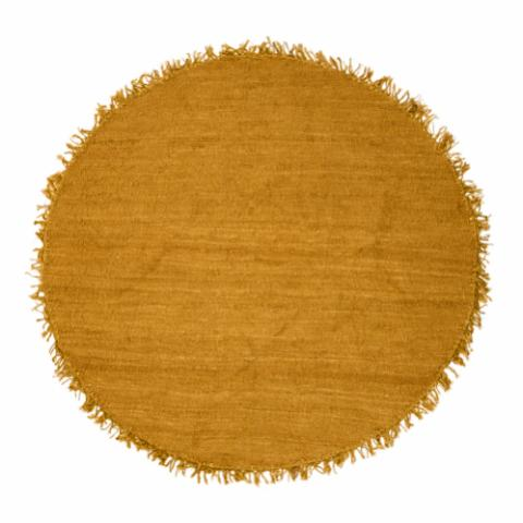 Boray Rug, Yellow, Jute
