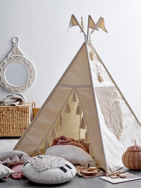 Fardin Children´s Tipi, Nature, Cotton