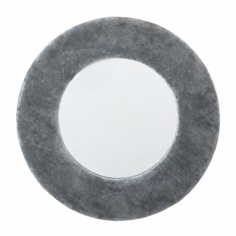 Zoyla Mirror, Grey, Cotton