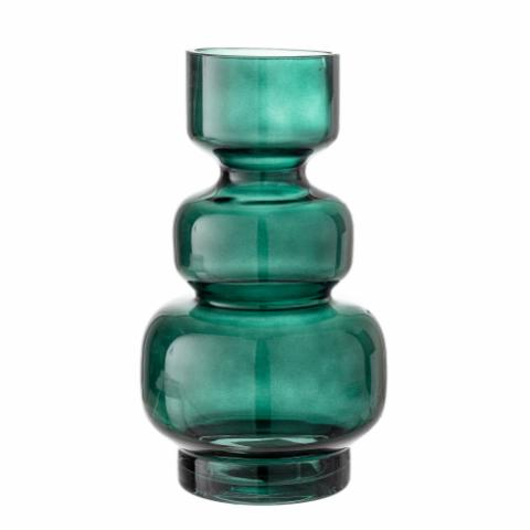 Johnson Vase, Green, Glass