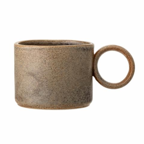 Thea Mug, Brown, Stoneware
