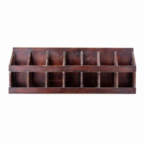Nilo Storage Box, Brown, Firwood