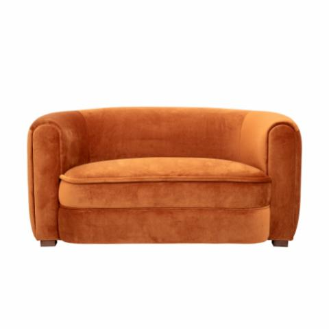 Malala Sofa, Brown, Polyester