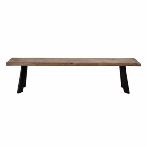 Raw Bench, Brown, Oak