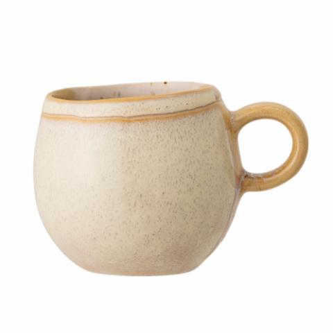 April Mug, Yellow, Stoneware
