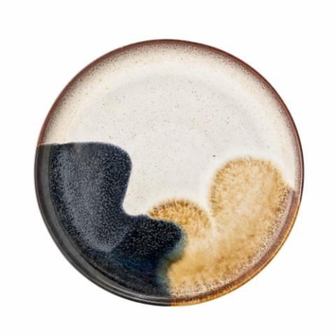 Jules Plate, Multi-color, Stoneware