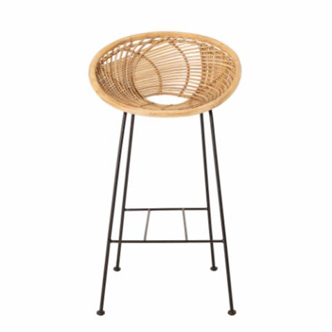 Yonne Bar Chair, Nature, Rattan