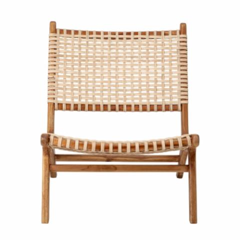 Keila Lounge Chair, Nature, Teak