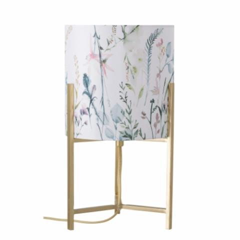 Simra Table lamp, Gold, Metal