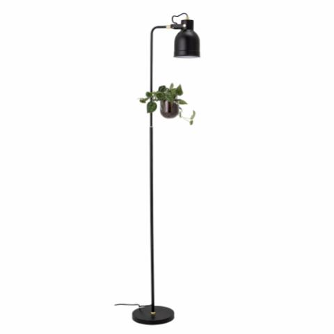 Agnete Floor Lamp, Black, Metal
