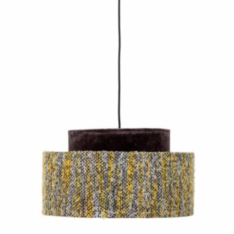 Cornelia Pendant Lamp, Yellow, Silk