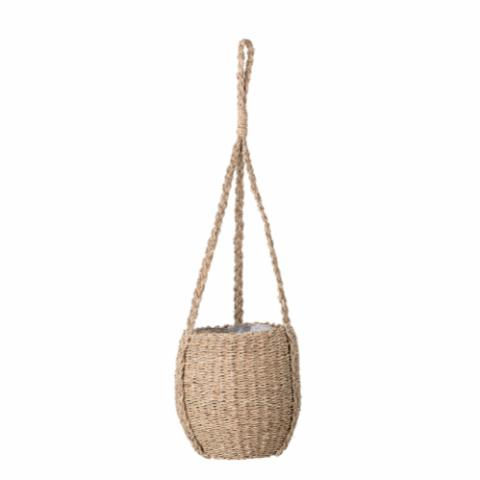 Flowerpot, Hanging, Nature, Seagrass