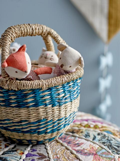 Sadorina Basket, Multi-color, Seagrass