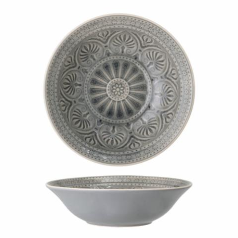 Rani Serving Bowl, Grey, Stoneware