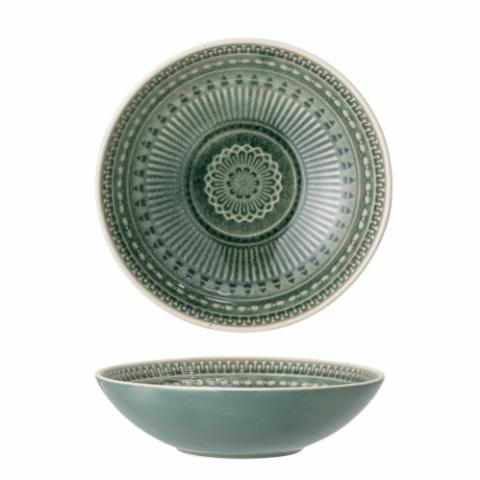 Rani Bowl, Green, Stoneware