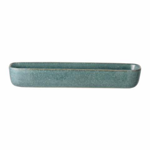 Aime Serving Dish, Green, Stoneware