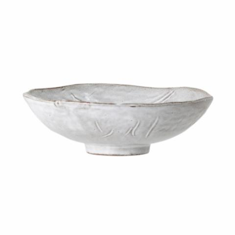 Iris Bowl, Grey, Stoneware