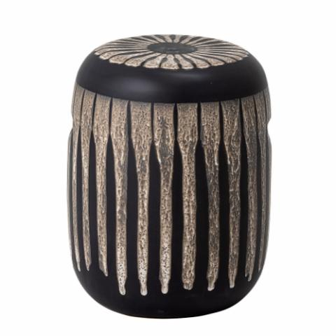 Stacey Stool, Brown, Stoneware