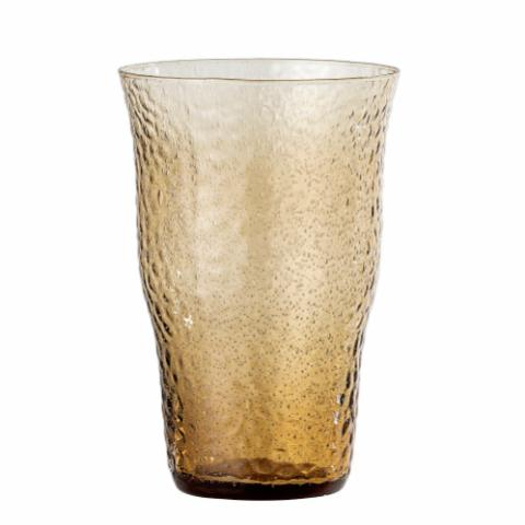 Karlette Drinking Glass, Brown, Glass