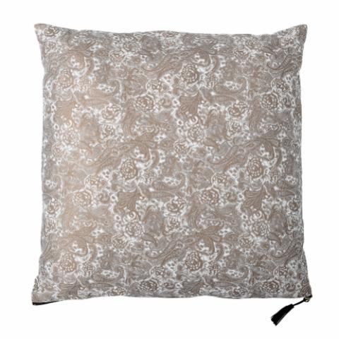 Tamila Cushion, Nature, Polyester
