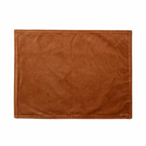 Kawa Placemat, Orange, Cotton