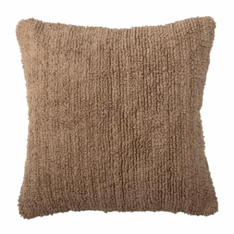 Manne Cushion, Brown, Cotton