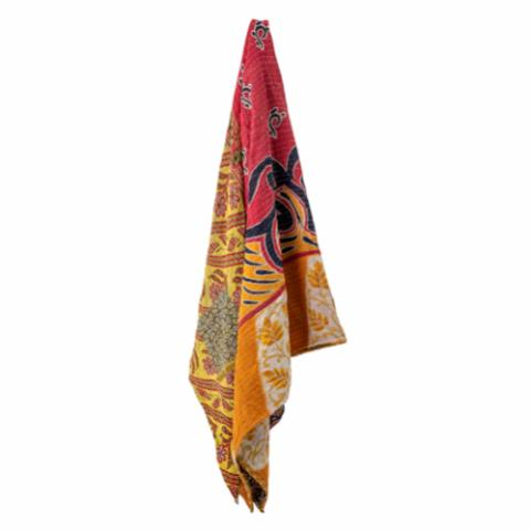 Sari Throw, Multi-color, Recycled Cotton