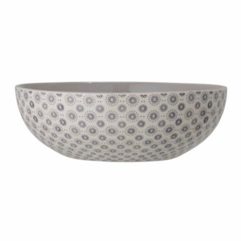 Elsa Serving Bowl, Grey, Stoneware