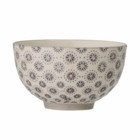 Elsa Bowl, Grey, Stoneware