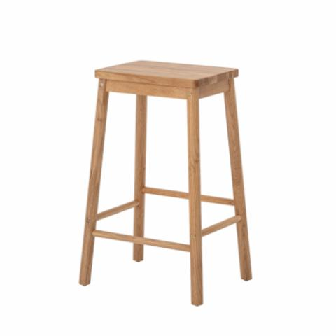 Mats Stool, Nature, Oak