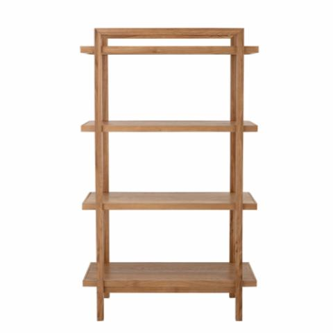 Skye Bookcase, Nature, Oak Veneer