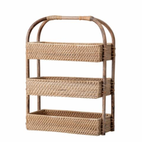 Manabi Basket, Nature, Rattan