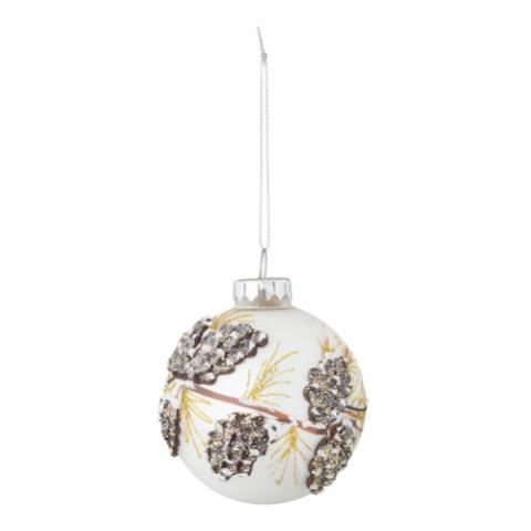 Skanny Ornament, Multi-color, Glass