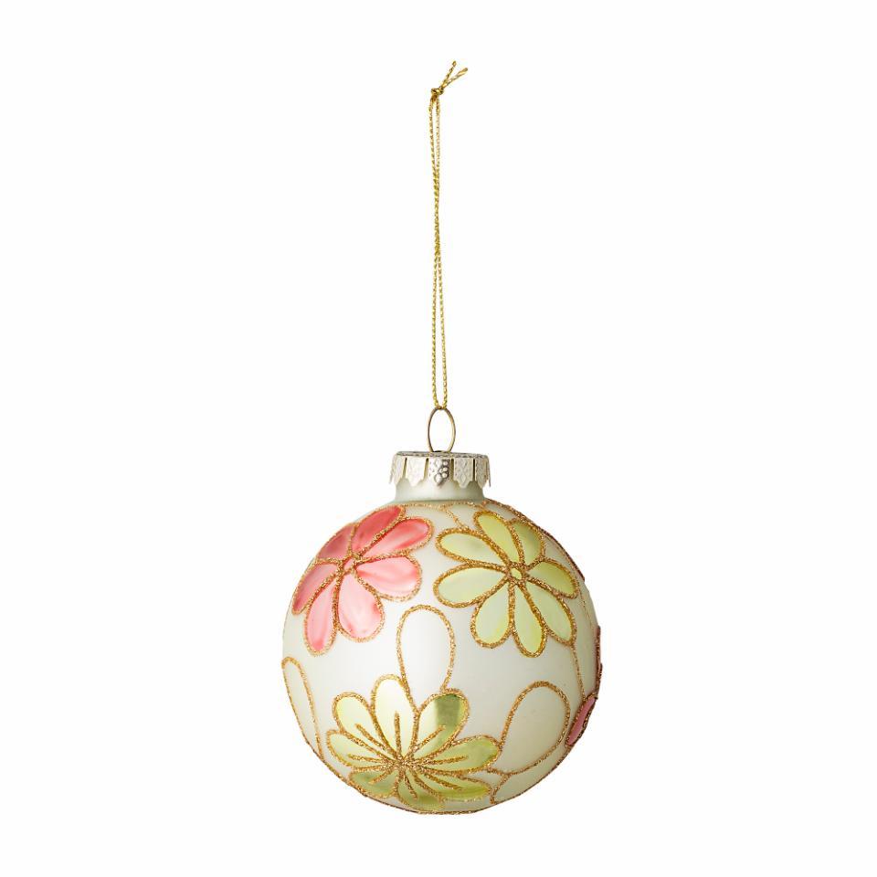 Xavia Ornament, Multi color, Glass