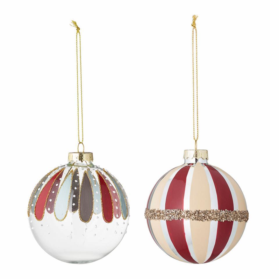 Solina Ornament, Multi color, Glass