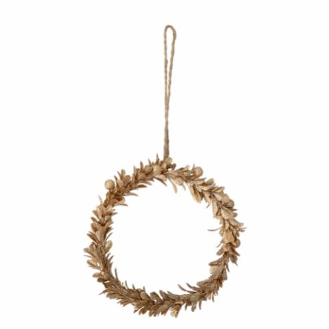 Villads Ornament, Gold, Metal