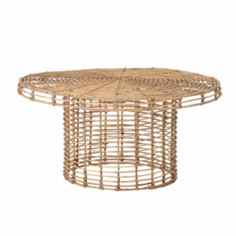 Abena Coffee Table, Nature, Rattan