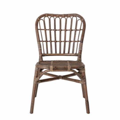 Honeia Dining Chair, Brown, Rattan