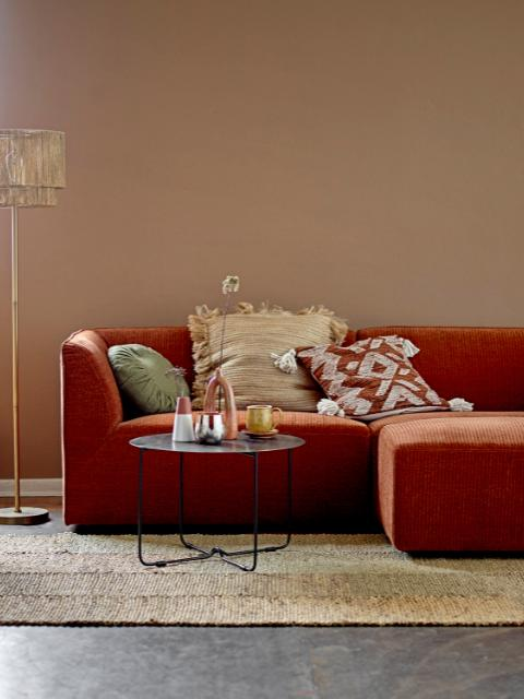 Petra Sofa, Brown, Polyester