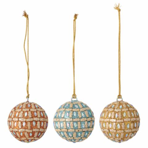 Siwa Ornament, Multi-color, Plastic