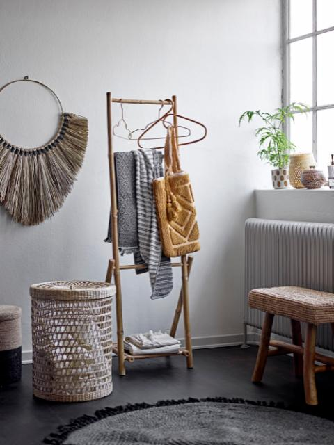 Arch Hanger, Nature, Rattan