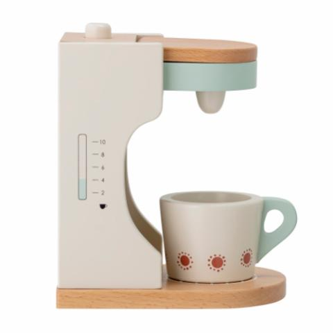 Elgo Play Set, Coffee maker, Multi-color, Beech