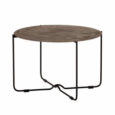 Adele Coffee Table, Black, Metal