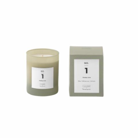 NO. 1 - Parsley Lime Scented Candle, Soy wax